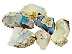 GP5159<br>Parcel Ethiopian Opal 20.00ctw Free Form Rough
