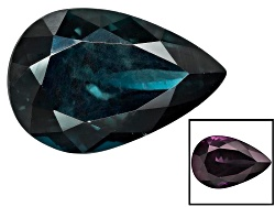BGP069<br>Masasi Blue Color Change Garnet 3.01ct 10.79x7.18x5.38mm Pear Shape With S.G.L. Report
