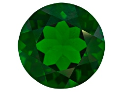 CDR420<br>Russian Chrome Diopside Average 4.00ct 10mm Round
