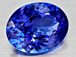NTV456<br>Tanzanite Min 1.75ct 9x7mm Oval
