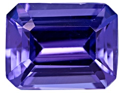 NTE128<br>Tanzanite Min 1.75ct 8x6mm Emerald Cut