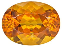 CSV014<br>Madeira Citrine Avg 7.75ct 16x12mm Oval