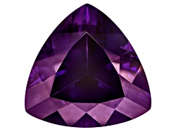 AST148<br>Untreated Amethyst Avg 8.75ct 15mm Trillion