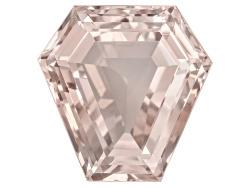 XTP139<br>Nigerian Pink Tourmaline 35.99ct 21.39x21.12mm Shield Shape Step Cut Gemworld Verification