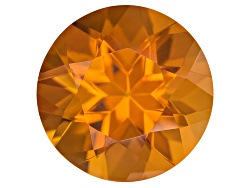 CSR025<br>Madeira Citrine Avg 1.00ct 7mm Round