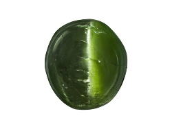 DIR034<br>Russian Cats Eye Chrome Diopside Min 1.00ct Mm Varies Round Cabochon