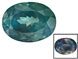 XTG4725<br>Brazilian Alexandrite Color Change 2.58ct 9.37x6.97x5.13mm Oval Comes With G.I.A. Certifi