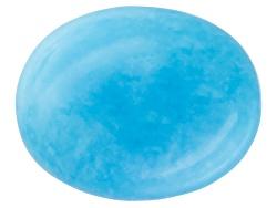 TQV027<br>Sleeping Beauty Turquoise 10x8mm Oval Tehya Oyama Turquoise(Tm)