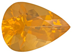 FOP120<br>Colheita Fire Opal(Tm) Honey Color Min 8.00ct Mm Varies Pear Shape