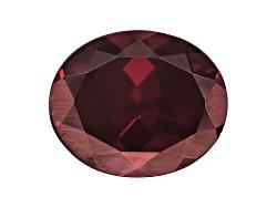 RZV056<br>Tanzanian Red Zircon Minimum 6.00ct 12x10mm Oval