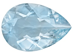 AQP060<br>Zambian Aquamarine Min 1.75ct Mm Varies Pear Shape