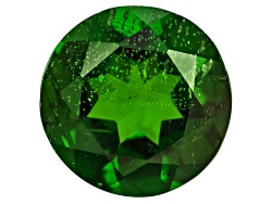 CDR451<br>Russian Chrome Diopside Min 2.15ct 9mm Round