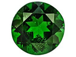 CDR471<br>Russian Chrome Diopside Min 3.00ct 9mm Round