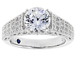 VKB510<br>Vanna K (Tm) For Bella Luce (R) 3.35ctw Platineve Ring (2.34ctw Dew)