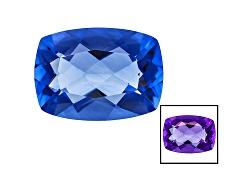 FL066<br>Color Change Blue Fluorite Minimum 14.00ct 18x13mm Rectangular Cushion Mixed Cut
