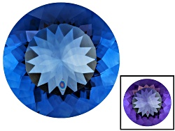 FL104<br>Color Change Blue Fluorite Minimum 19.00ct 18mm Round Mixed Cut