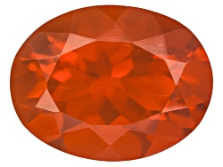 FO050<br>Mexican Cherry Fire Opal 1.00ct Minimum 9x7 Oval