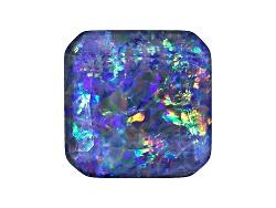 OP303<br>Australian Opal Triplet 12mm Octagonal Faceted