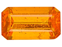 EXK2386<br>Serengeti Spessartite 3.03ct Minimum 10.5x5.8mm Emerald Cut