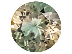 SN162<br>Bi-color Pastel Oregon Sunstone From Butte Mine 2.80ct Minimum 10mm Round Mixed Cut Color V