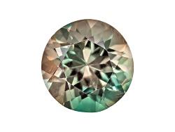 SN181<br>Bi-color Oregon Sunstone From Butte Mine .60ct Minimum 6mm Round Color Varies