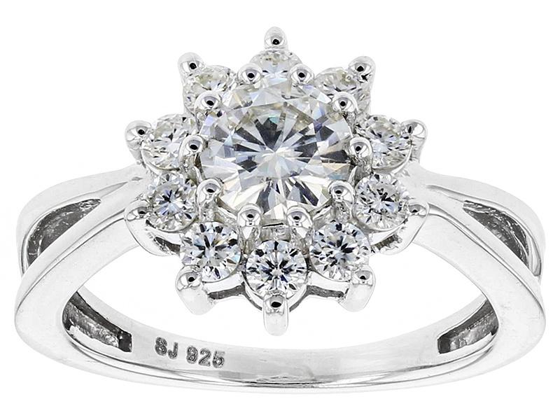 Moissanite Fire Tm 1 30ctw Diamond Equivalent Weight
