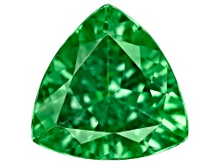 TS079<br>Tanzanian Tsavorite Garnet 1.00ct Minimum 7mm Trillion