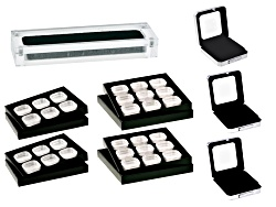 GCK024<br>(4) Display Boxes; (4) Gemstone Trays With Gem Jars
